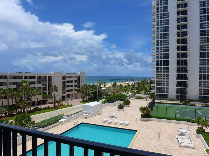 Phenomenal views - across from Pompano Pier! in Pompano Beach, FL