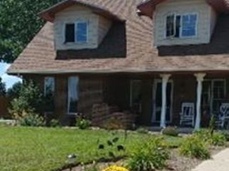 Beautiful brick colonial home in a rural area.  in Loveland, CO