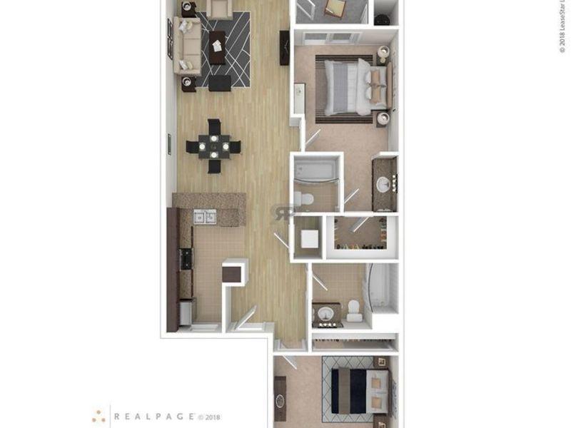2 Bedroom 2 Bath (will have own bedroom/bath) in Brea, CA