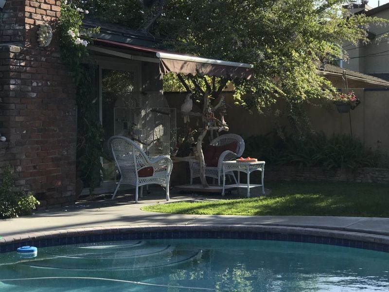 3 bedroom with pool shared with retired  lady in anaheim, CA