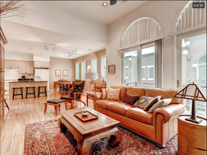 Upscale Townhome 3 blocks from Cherry Creek Mall   in Denver, CO