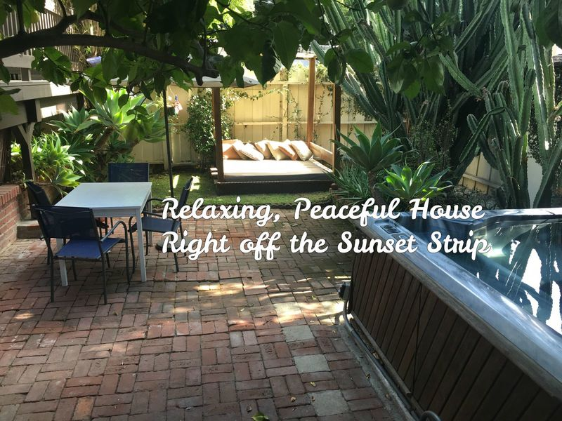 Peaceful Home Steps From Sunset Strip in West Hollywood, CA