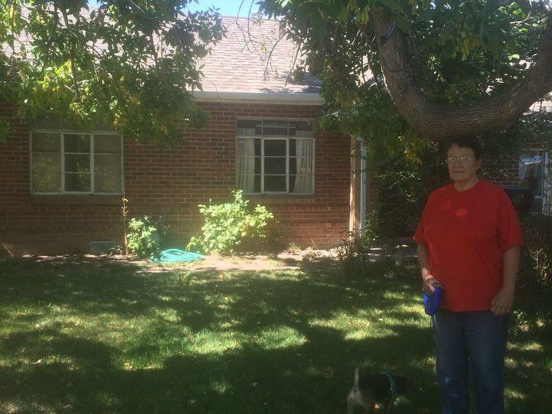 Single-family brick home in Denver, CO