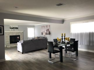 Open floor plan single story beautifully remodeled in North Tustin, CA