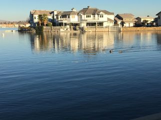 Waterfront home on a private lake in Victorville, CA