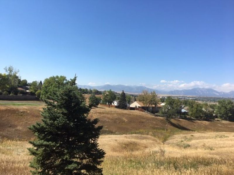 Amazing location on open space with mountain views in Broomfield, CO