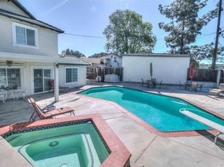 View home with a pool and spa in Diamond Bar, CA